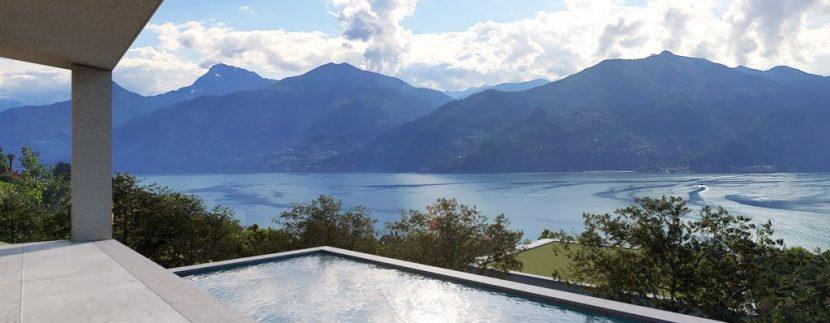 Lake Como Menaggio New Modern Villas swimming pool