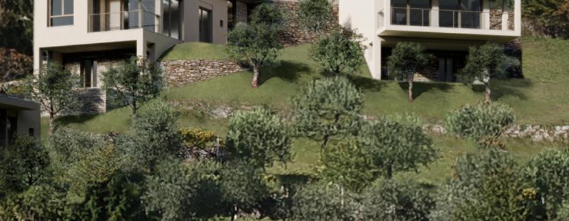 Lake Como Menaggio New Modern Villas - garden