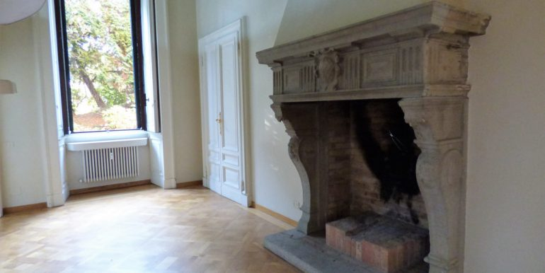 Griante Luxury Apartment - Fireplace