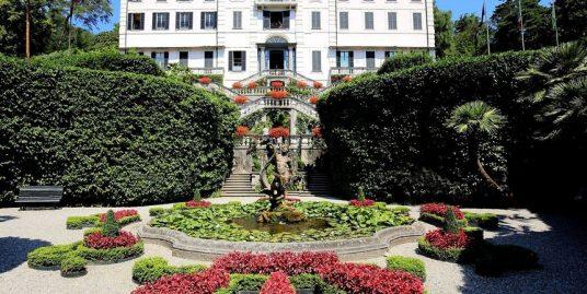 Villa Carlotta Tremezina Lake Como with botanical garden